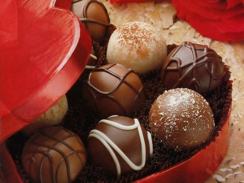 are valentines chocolates a health food