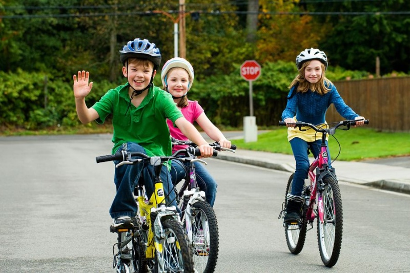 Kids Cycle Their Way to Better Behavior