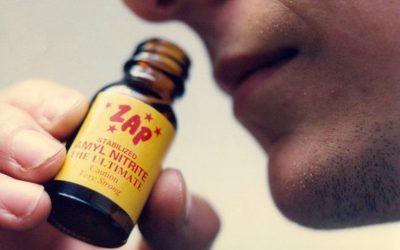 "Inhaled ""Poppers"" Harmful to Eyesight"