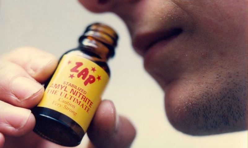 "Inhaled ""Poppers"" Harmful to Eyesight"