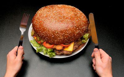 Restaurant Meals Heavy in Calories