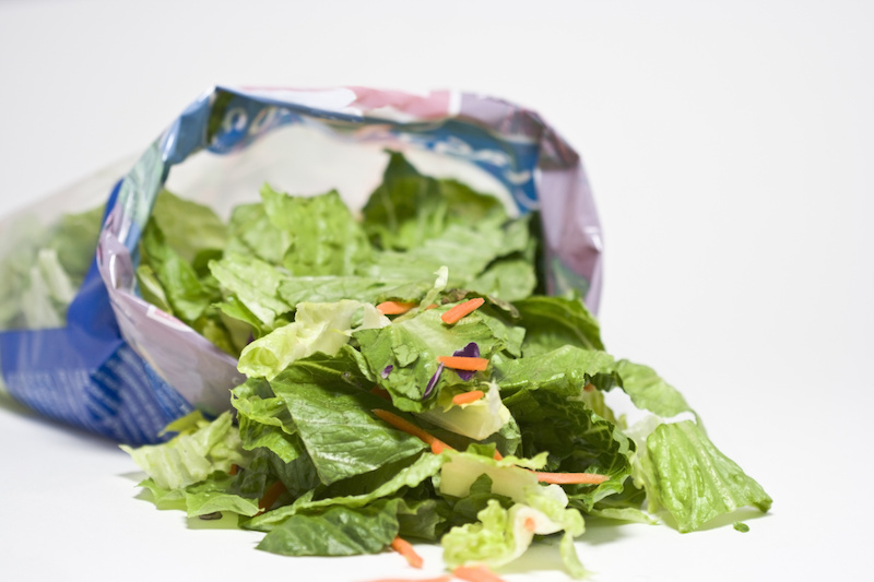 Are Bagged Salad Greens Safe?