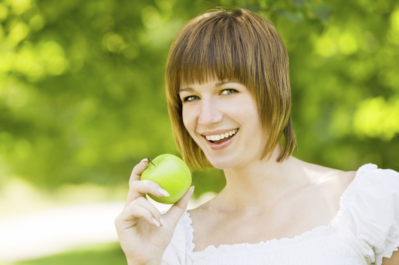 Frequent Consumption of Fruit Improves Female Fertility